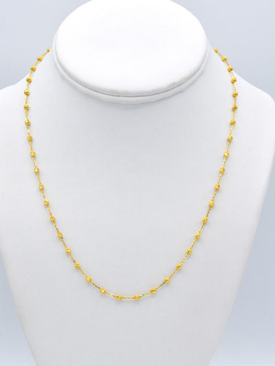 22ct Gold Fancy Ball Chain