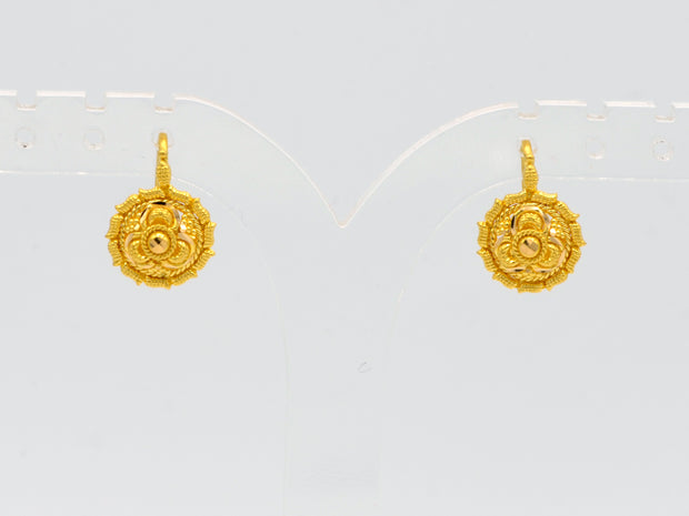 22ct Gold Stud Earrings