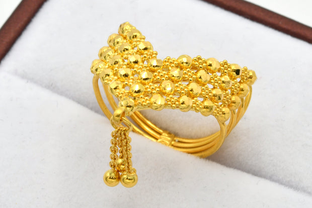 22ct Gold Filigree Ladies Ring
