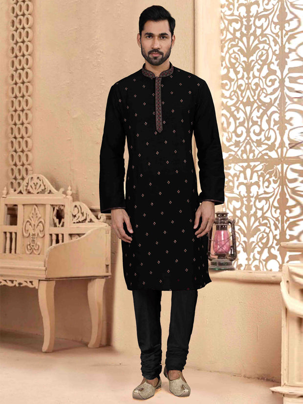 Embroidered Kurta Payjama