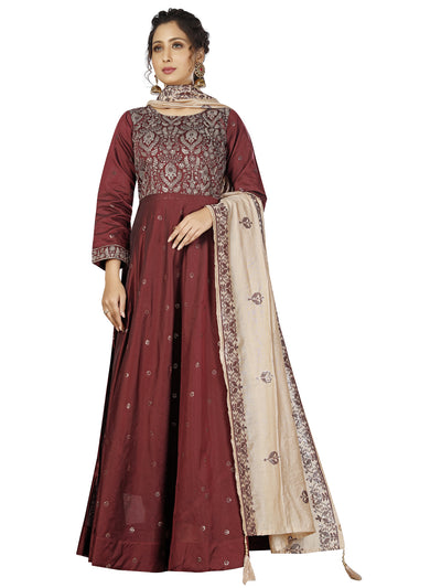 Dora Cotton Anarkali Suit