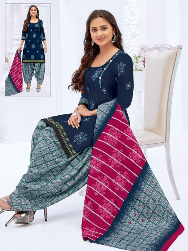 Khushi Navy Blue Salwar Suit