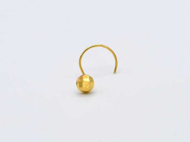 22ct Gold Nose Pin - 2.5 mm