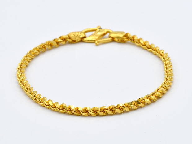 22ct Gold 1PC Baby Bracelet