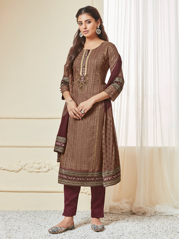 Aditi Straight Cut Suit