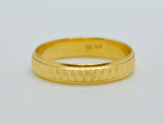 22ct Gold Band Ring