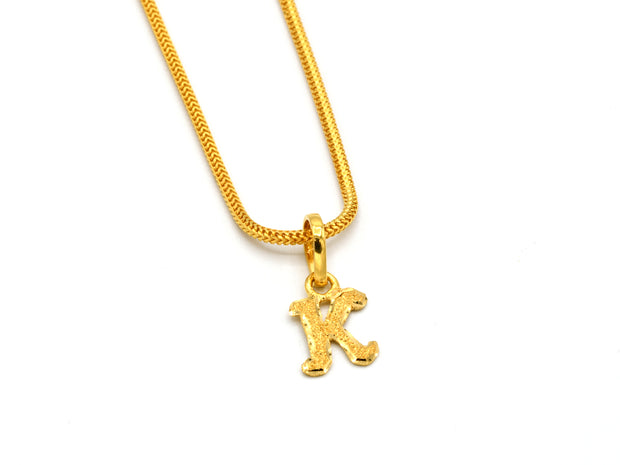 22ct Gold Round Cubic Zirconia Nose Pin - Roop Darshan