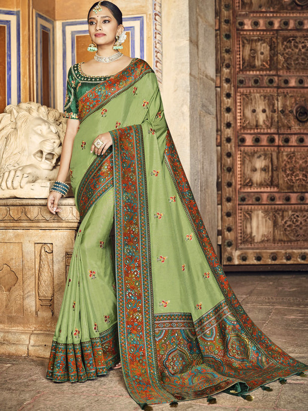 Fara Embroidered Saree