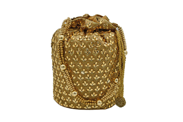Stone Embroidered Potli Bag