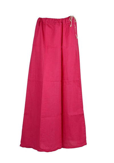 Hot Pink Cotton Petticoat