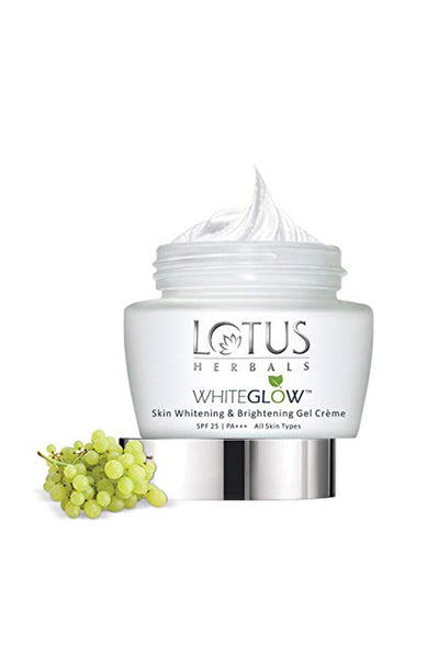 Lotus Herbals WHITEGLOW Skin Whitening & Brightening Gel Cream SPF 25 PA+++_60 gm
