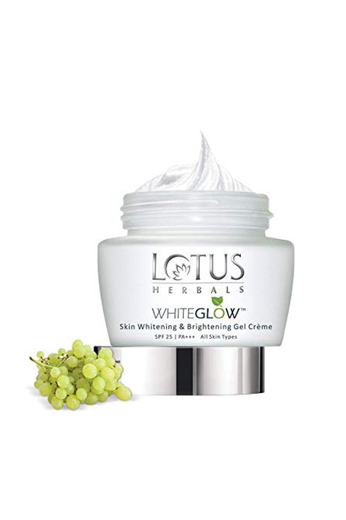 Lotus Herbals WHITEGLOW Skin Whitening & Brightening Gel Cream SPF 25 PA+++_60 gm - Roop Darshan