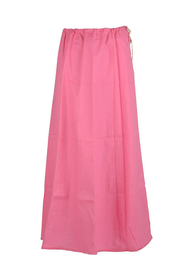 Light Pink Cotton Petticoat - Roop Darshan