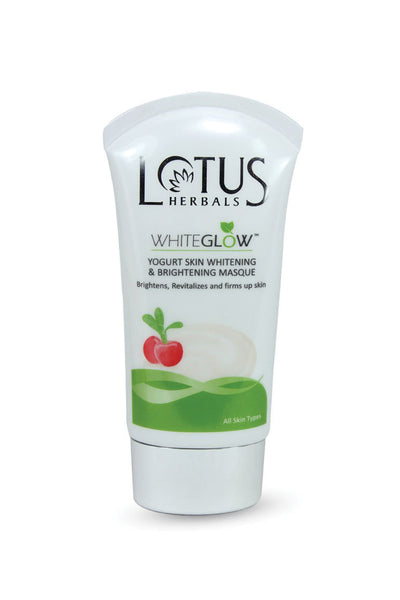 Lotus Herbals WHITEGLOW Yogurt Skin Whitening And Brightening Masque_80 gm - Roop Darshan