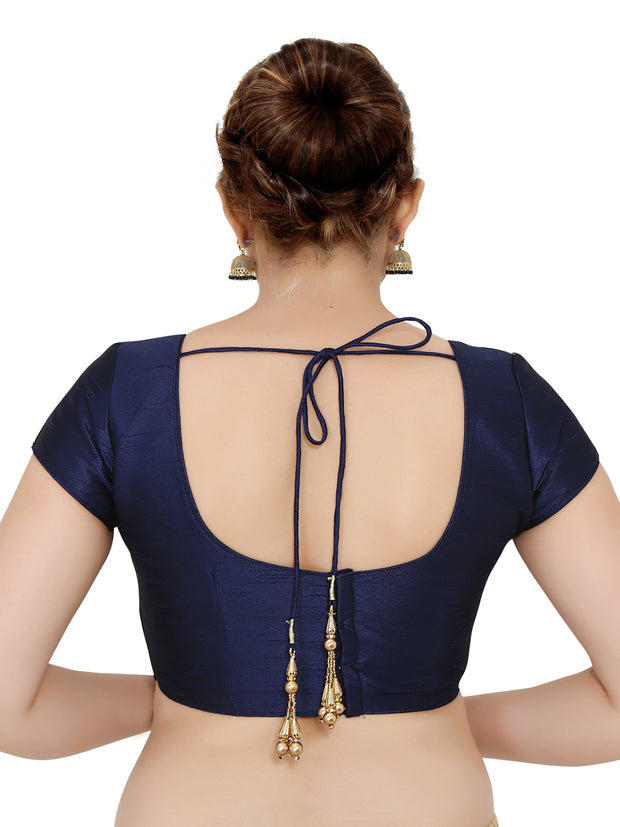 Dupion Silk Saree Blouse.