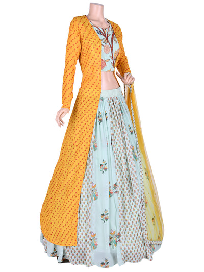 Shloka Lehenga Choli With Cape
