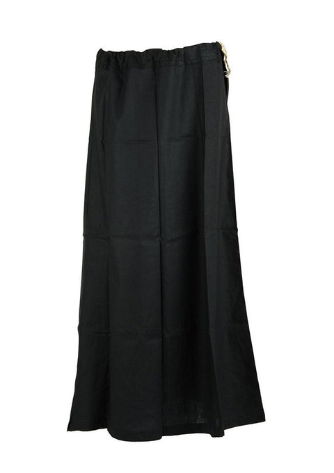 Black Cotton Petticoat