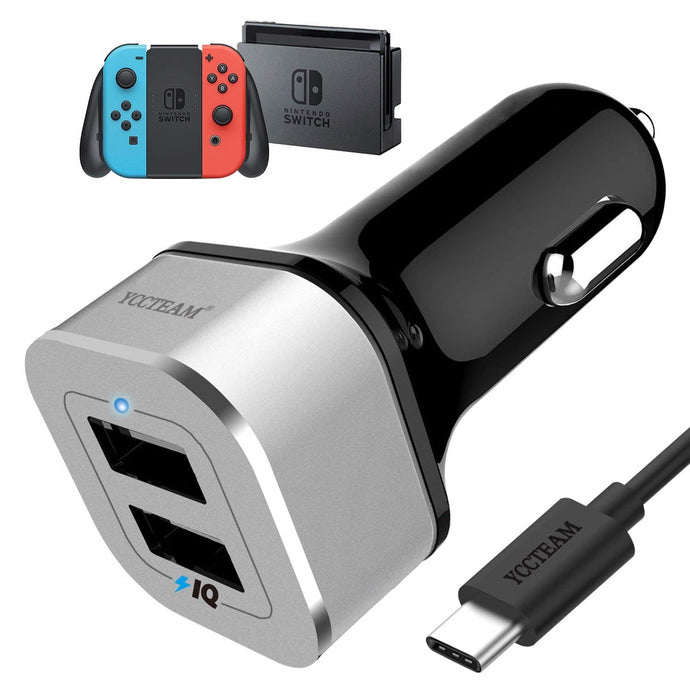 High Speed Car Charger for Nintendo Switch Review
