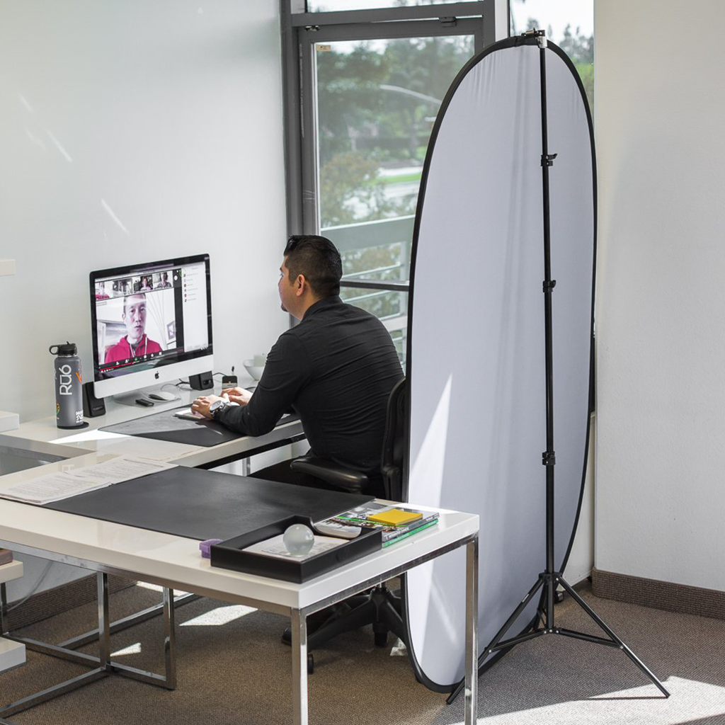 Fovitec StudioPRO for video, livestreaming, or webcam interviews