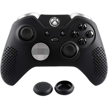 Protective Skin & Thumb Grip for Xbox One Elite controller - Black