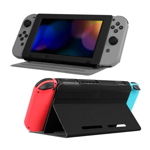 Nintendo Switch Ultra Slim Protective Leather Play Stand