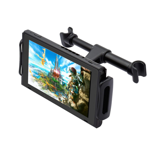 Adjustable Car Headrest Mount for Nintendo Switch /phone/tablet (4