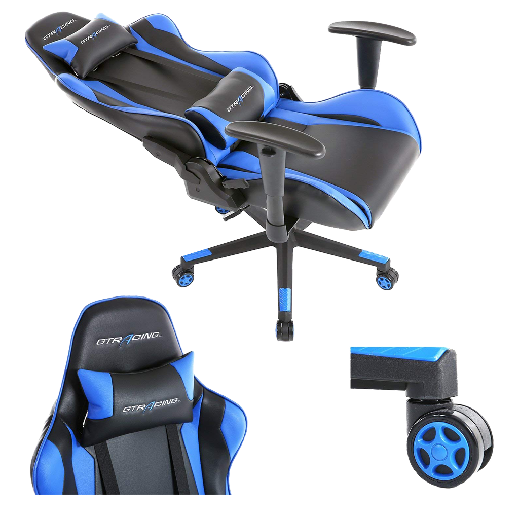 Gaming racing chair