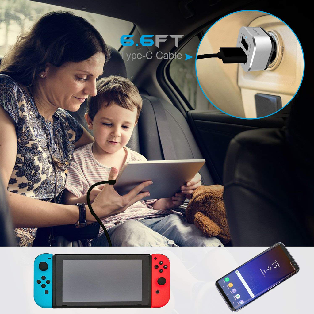 Nintendo Switch Car Charger