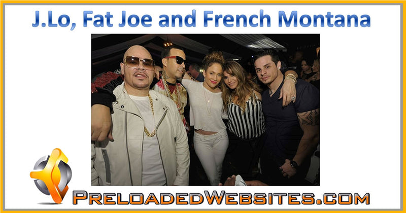 Our Partner Fat Joe w/ J.Lo, and French Montana