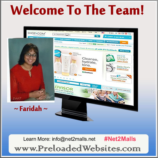 Preloaded Website Owner Faridah From GA