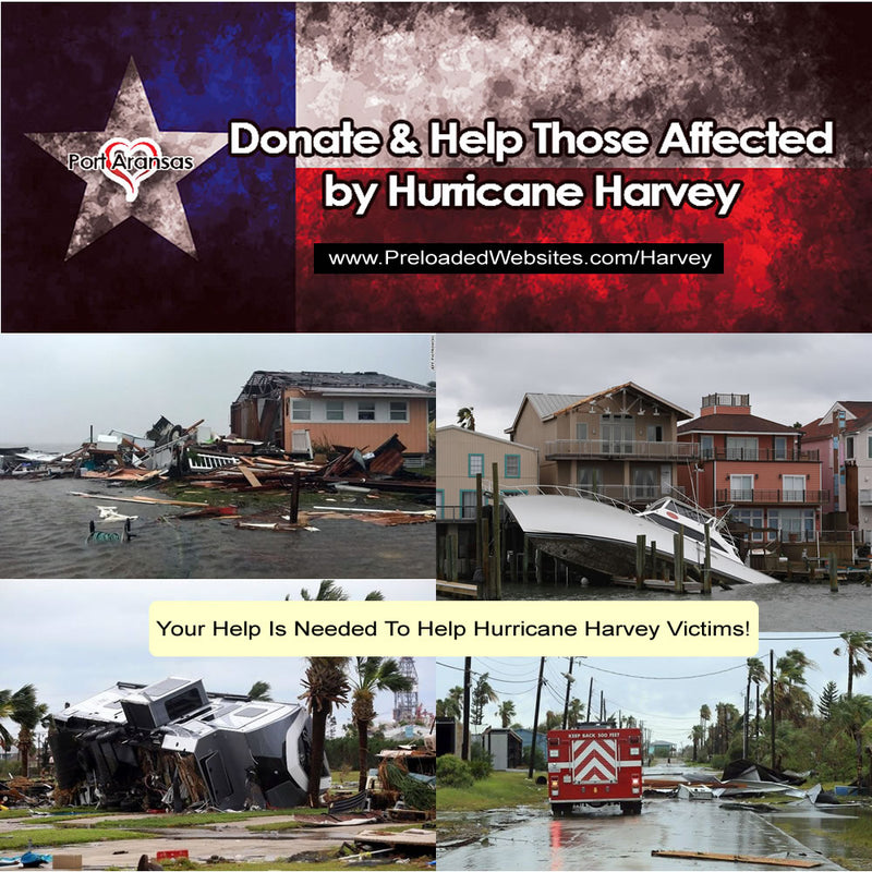 Help Hurricane Harvey Victims