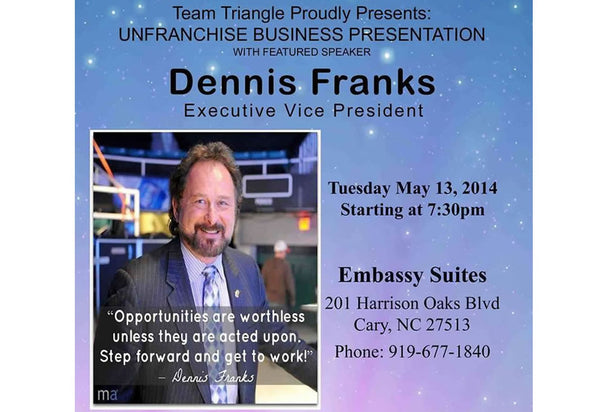 Dennis Franks Presents Internet Business Opportunity