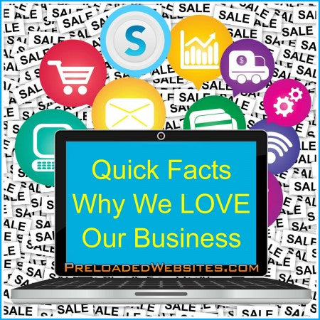 Quick Facts Of Why We LOVE Our Internet Business