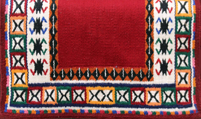 G-058 Red Yucca Flats Saddle Blanket - YUCCA FLATS