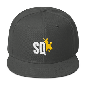 SQ Embroidered Snapback