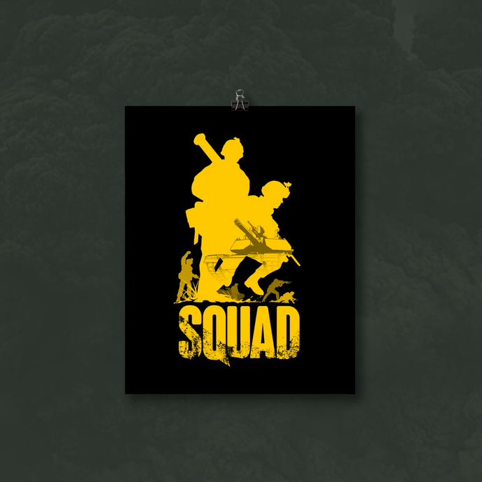Squad Frontline Poster