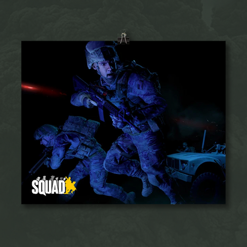 Squad Night Strike Poster