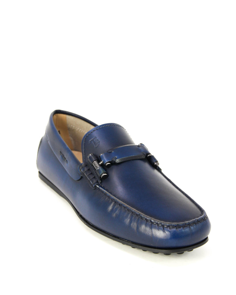 TOD'S MEN'S MORSETTO LEATHER LOAFERS XXM0LR0O830BRXU803