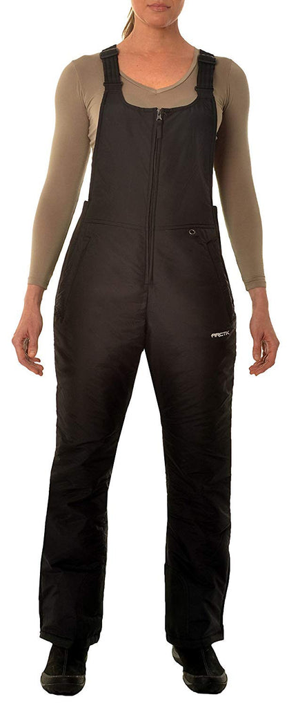 Arctix Women's Essential Insulated Bib Overalls, black