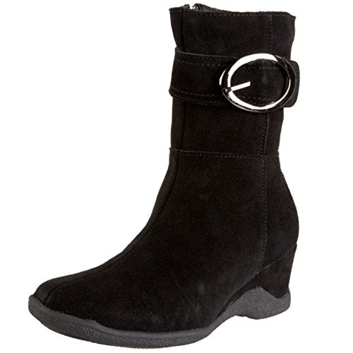 Santana Aquatherm Women's Fiorina Boot,Black Suede