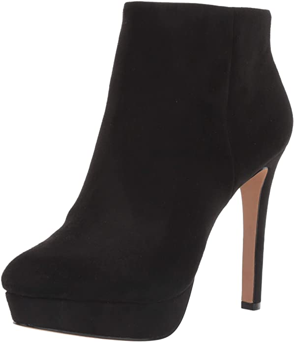 Jessica Simpson Women's Rebekah Black Stretch Microsuede Platform Pumps