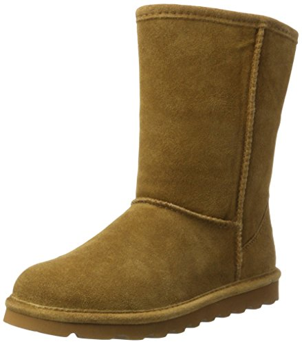 Bearpaw Women's Elle Short Winter Boot, Hickory