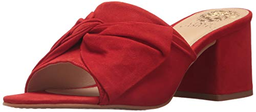 Vince Camuto Women's Sharrey Slide Sandal, Red Hot Rio