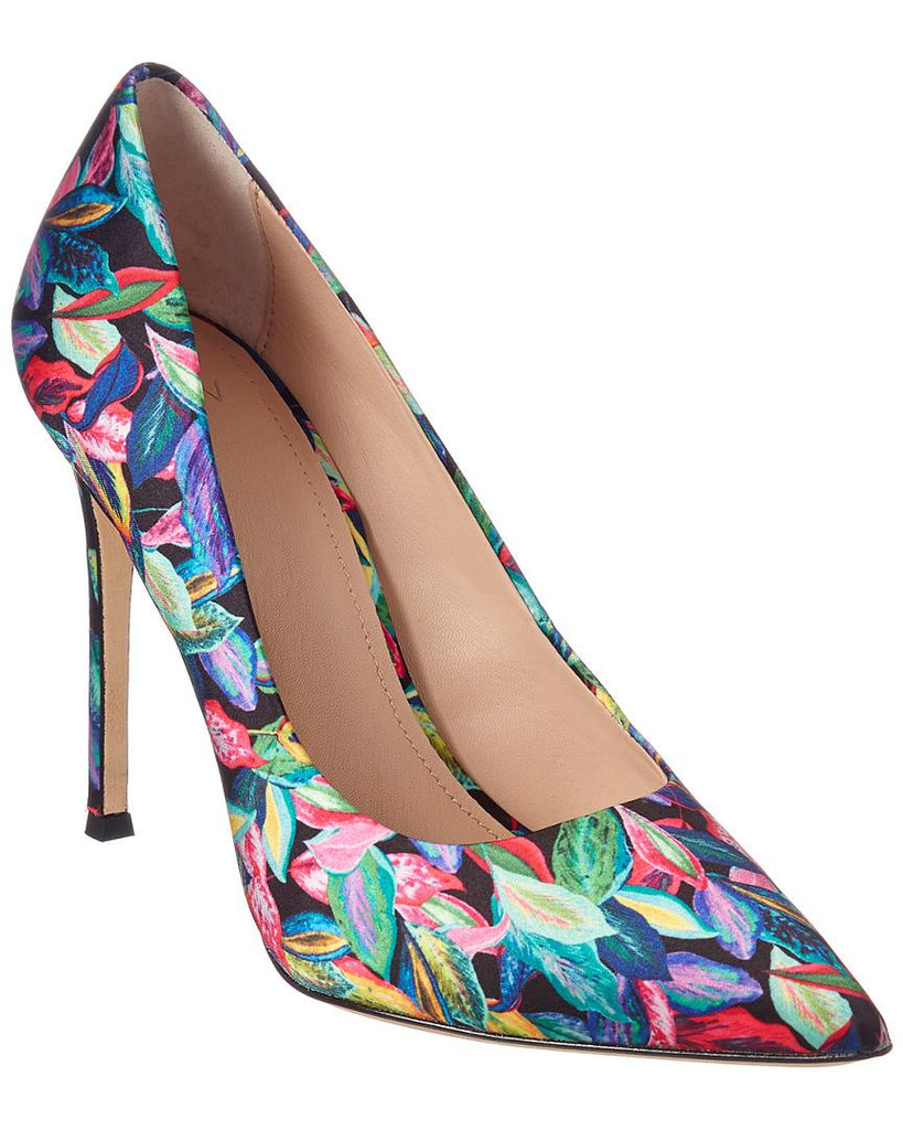 Pour La Victoire Celeste Tropic Trip Pointed Toe Dress Pumps