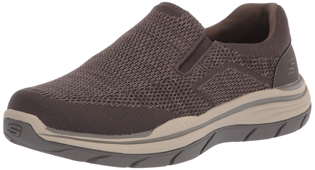 Skechers Men's Expected 2.0-Arago Slip on Canvas Loafer