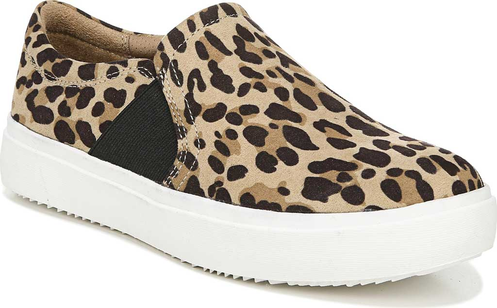 Dr. Scholl Shoes Women's Madison Fashion Sneaker Leopard Slip On