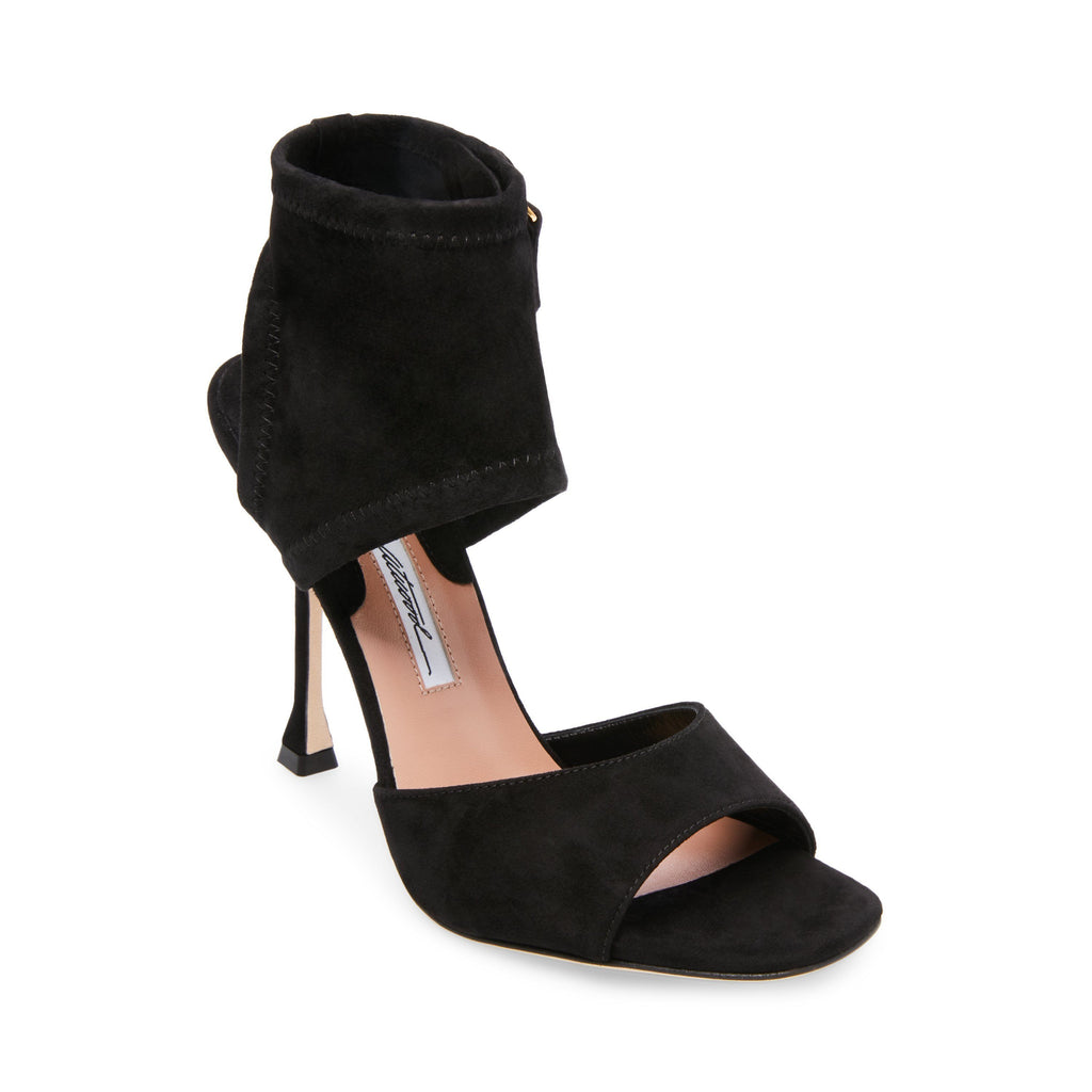 Brian Atwood Stella Suede Nubuck High-Heel Open Toe Dress Sandals