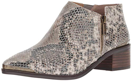 Lucky Brand Women's Koben, Natural Snake Pointed Toe Ankle Booties