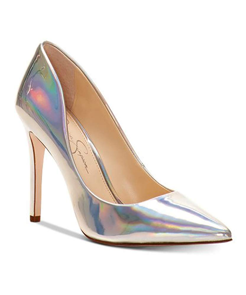 Jessica Simpson Iridescent Classic Stiletto Heeled Comfortable Dress Pumps