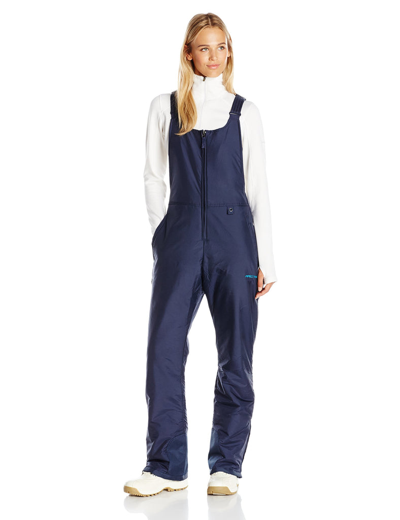 Arctix Women's Essential Insulated Bib Overalls, Blue Night